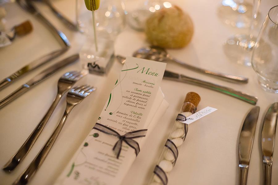 Faire part mariage thème Pharmacie par Imagiligne pour Lyon-mariage.com