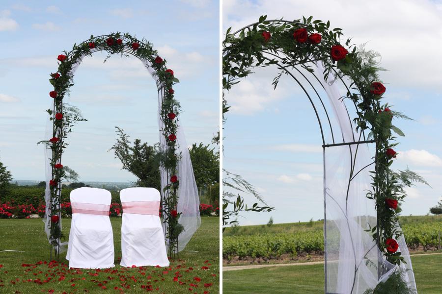 mariage laique decoration. Black Bedroom Furniture Sets. Home Design Ideas